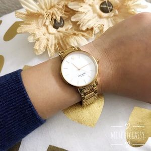 💕ONE DAY SALE💕Kate Spade• Rose Gold Watch